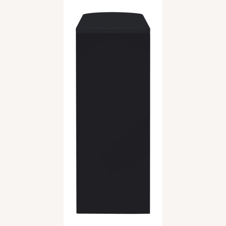 Bar Unit In Black High Gloss Finish - image-3