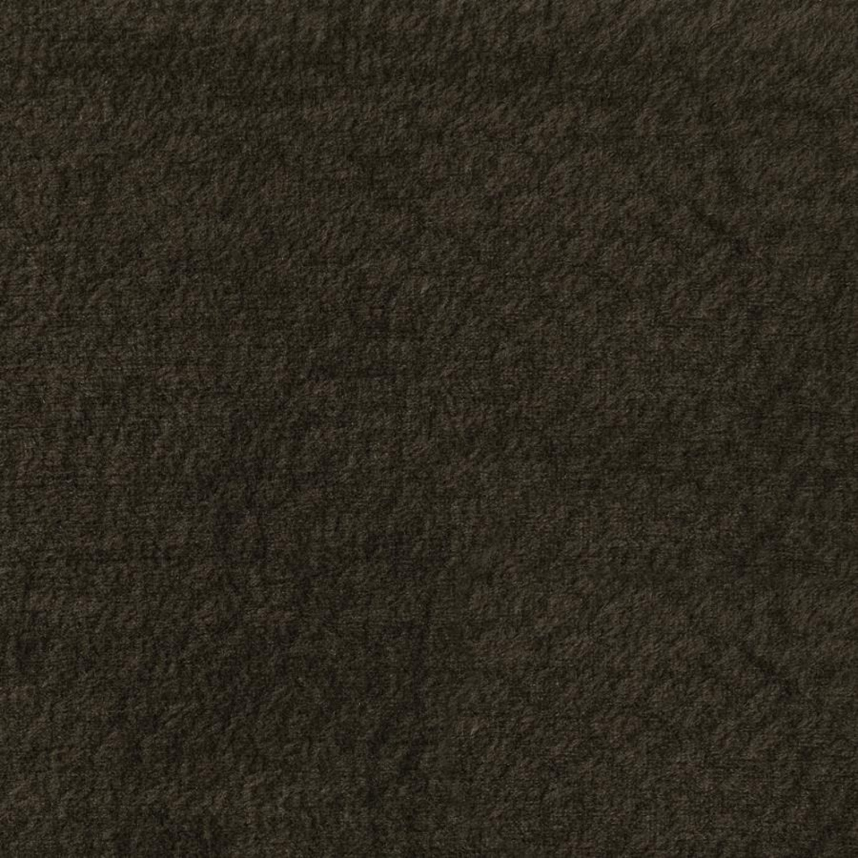 Sectional In Dark Chocolate Padded Textured Velvet - image-2