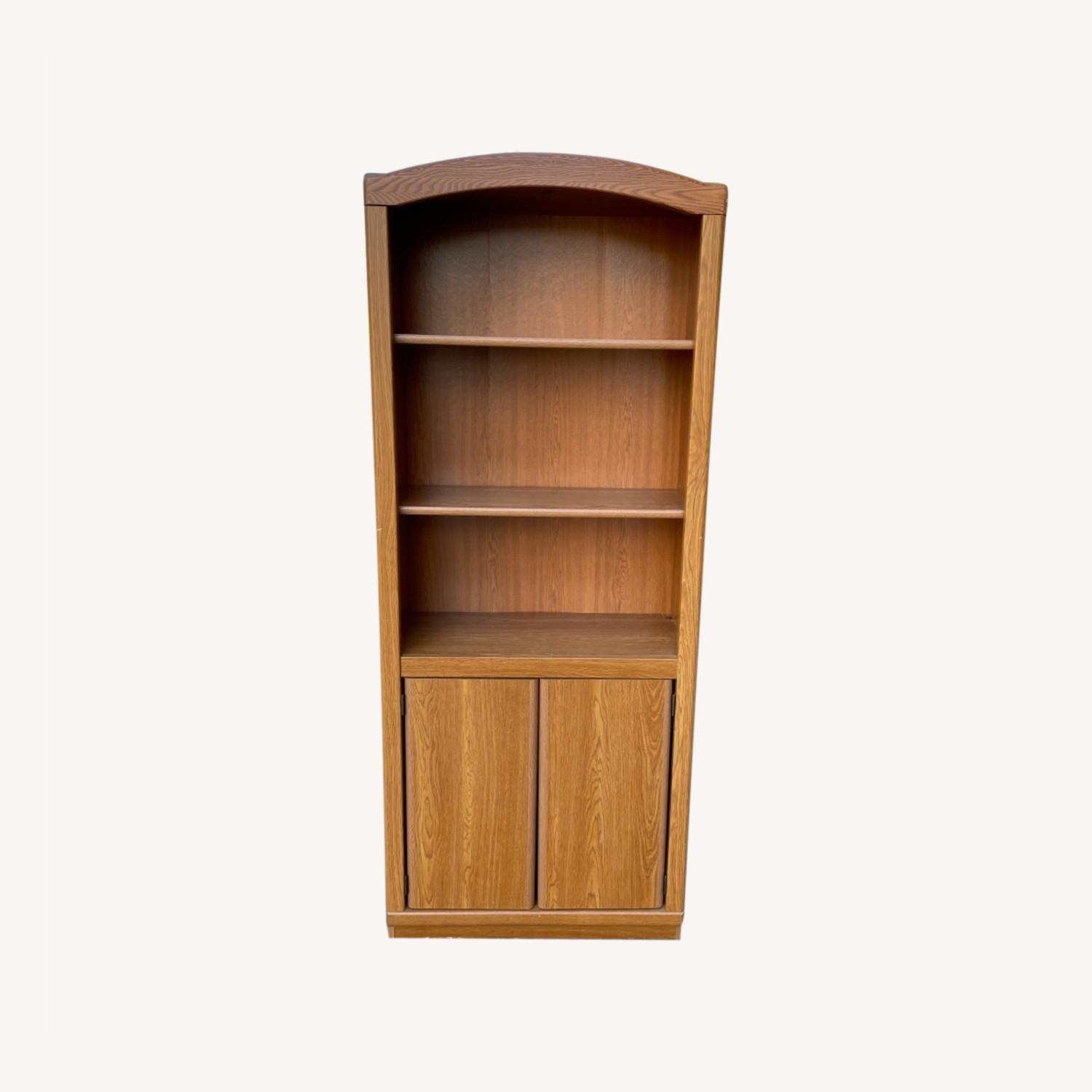 Wooden Cabinet/ Bookcase  - image-0