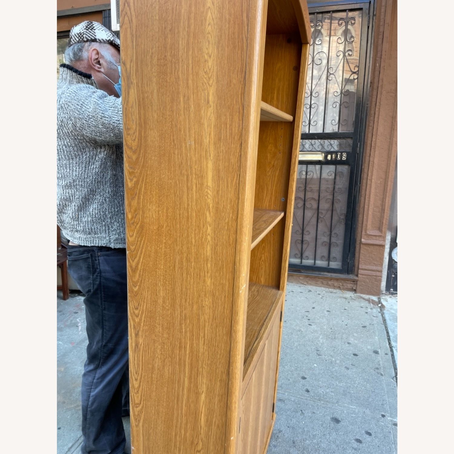 Wooden Cabinet/ Bookcase  - image-5