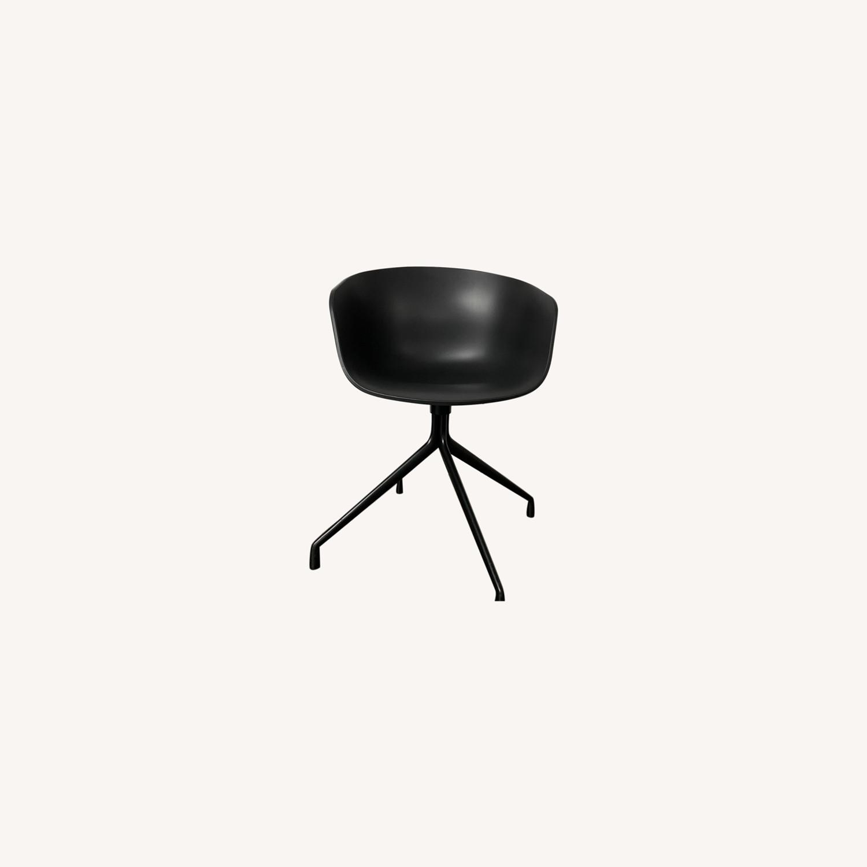 HAY Bucket Chairs (Black/Black) - image-0