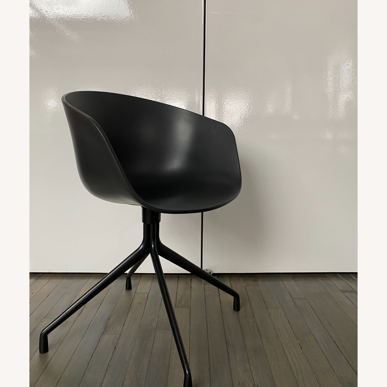 HAY Bucket Chairs (Black/Black) - image-1