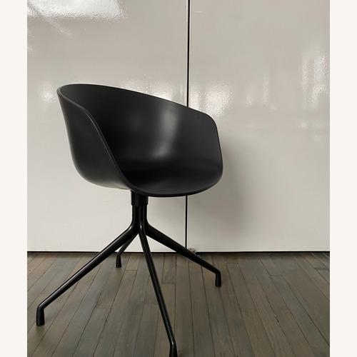 Used HAY Bucket Chairs (Black/Black) for sale on AptDeco