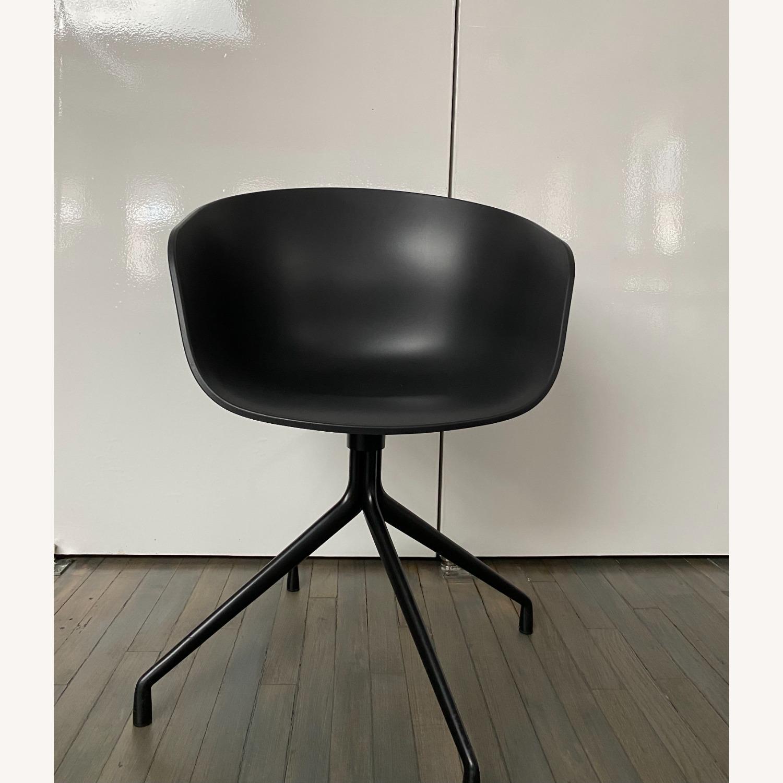 HAY Bucket Chairs (Black/Black) - image-2