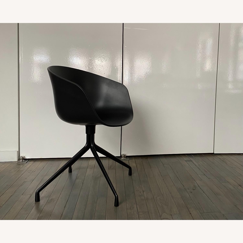 HAY Bucket Chairs (Black/Black) - image-3