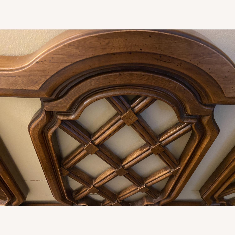 Mid-Century Modern Solid Wood Headboard - King - image-2