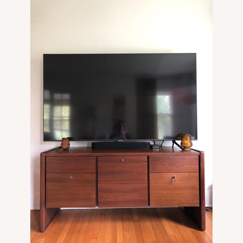 Vintage Solid Wood Credenza - image-1