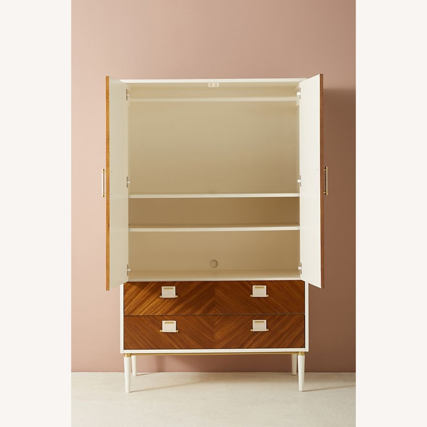 Anthropologie Geo-Marquetry Armoire - image-2