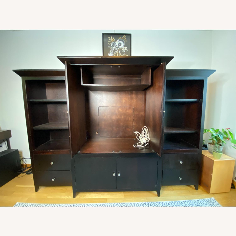 Wooden Cabinet & Shelving Set (3pc) - image-2