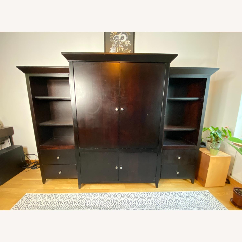 Wooden Cabinet & Shelving Set (3pc) - image-1