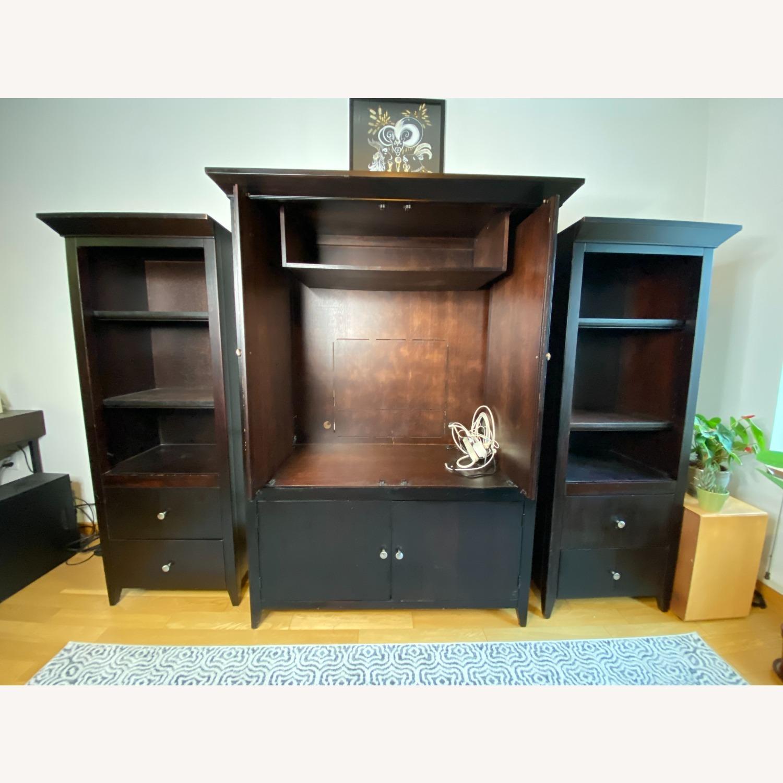 Wooden Cabinet & Shelving Set (3pc) - image-7