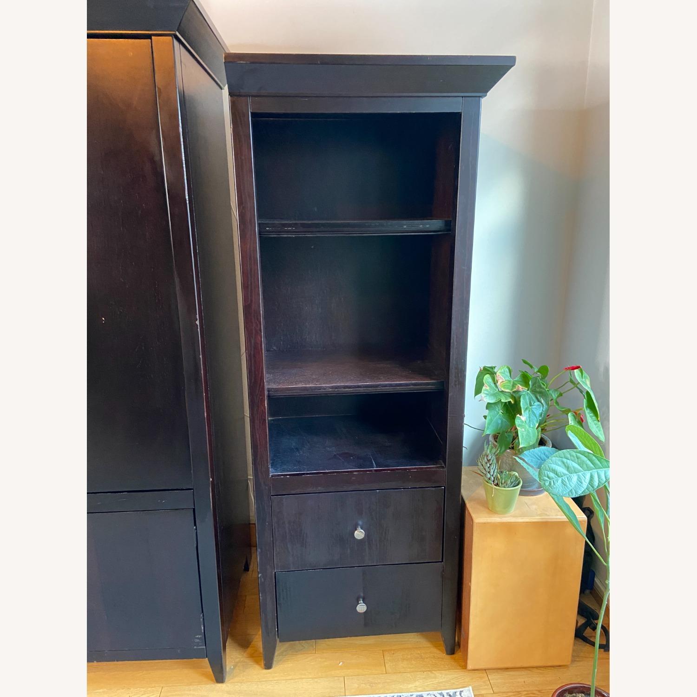 Wooden Cabinet & Shelving Set (3pc) - image-9
