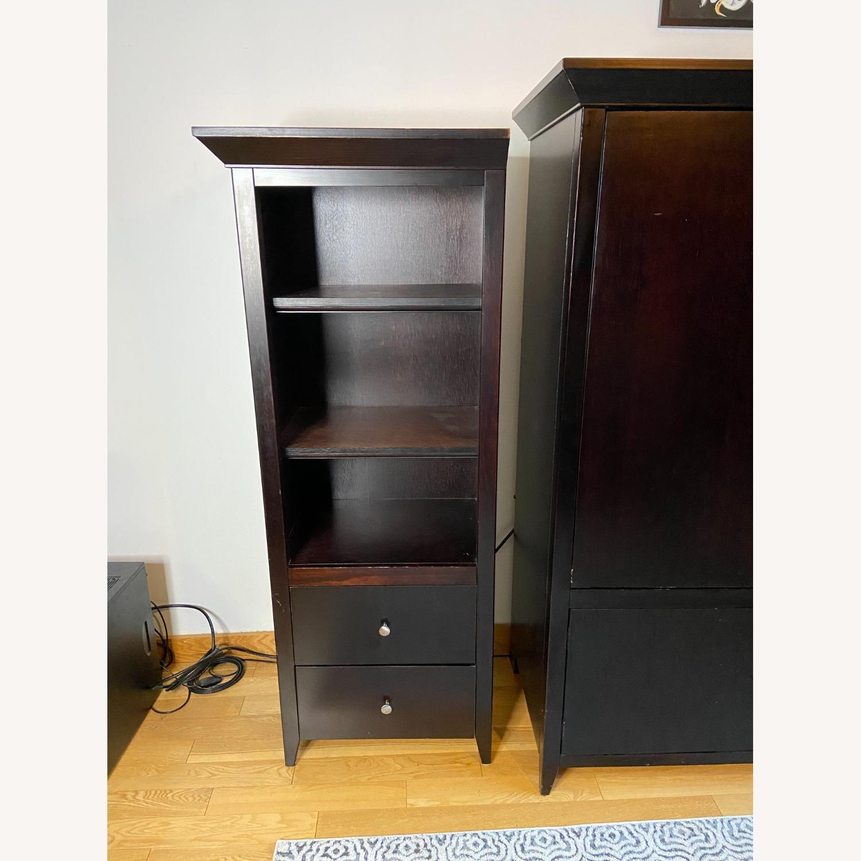 Wooden Cabinet & Shelving Set (3pc) - image-8