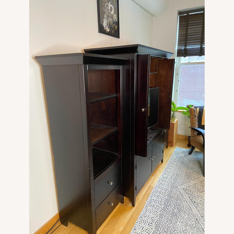 Wooden Cabinet & Shelving Set (3pc) - image-3