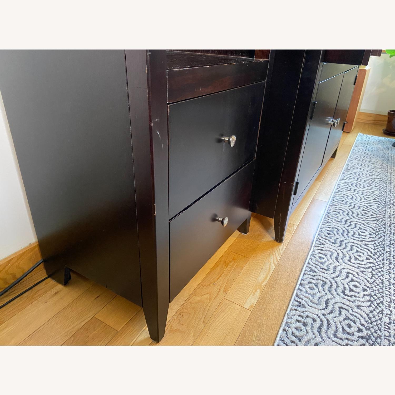 Wooden Cabinet & Shelving Set (3pc) - image-5