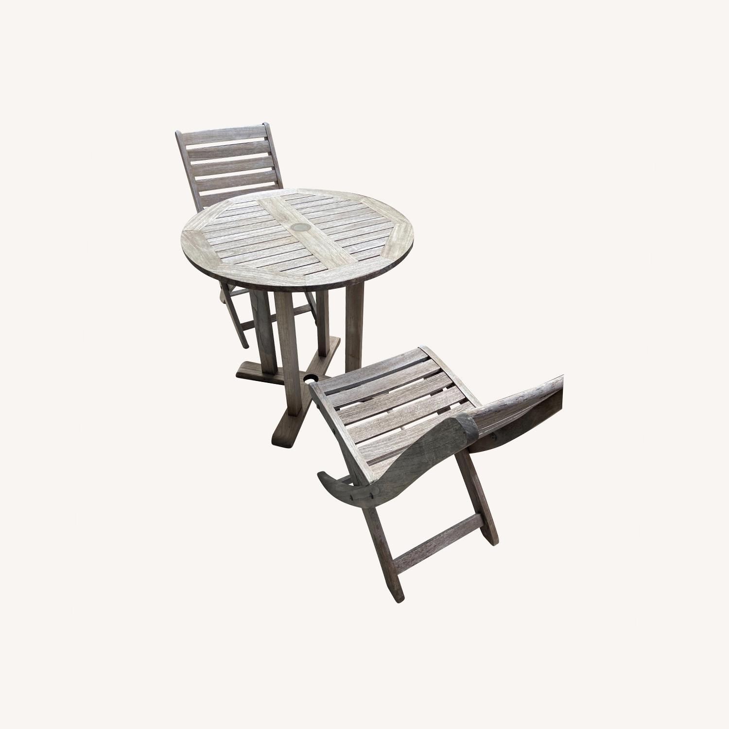 RockWood Outdoor Cafe Table and Chairs - image-0