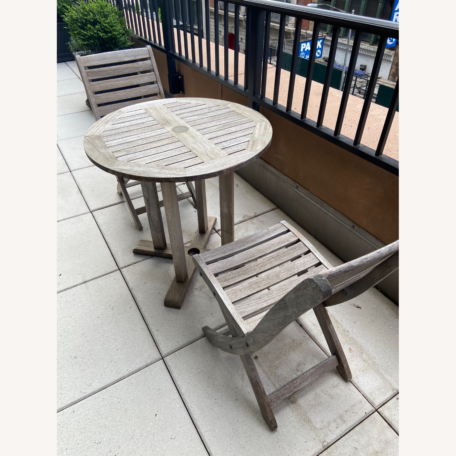 RockWood Outdoor Cafe Table and Chairs - image-1