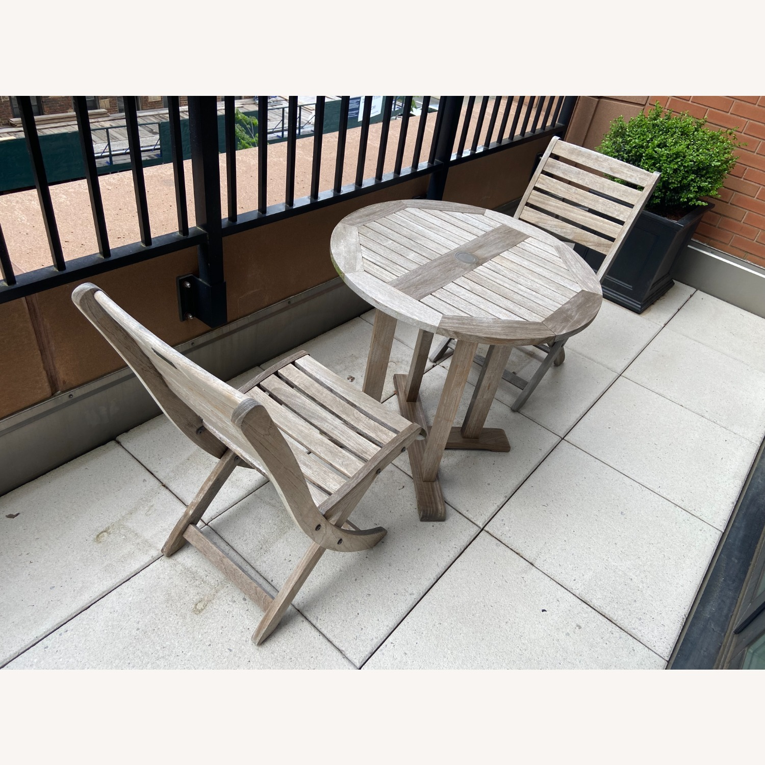 RockWood Outdoor Cafe Table and Chairs - image-2