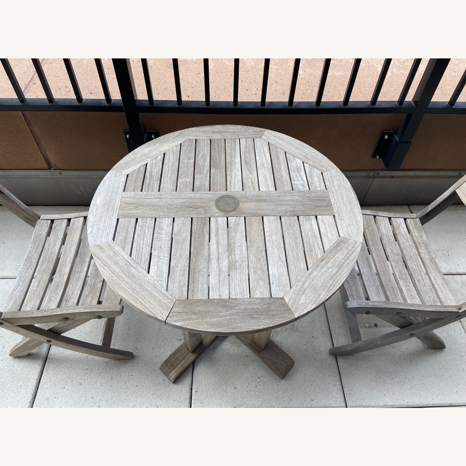 RockWood Outdoor Cafe Table and Chairs - image-4
