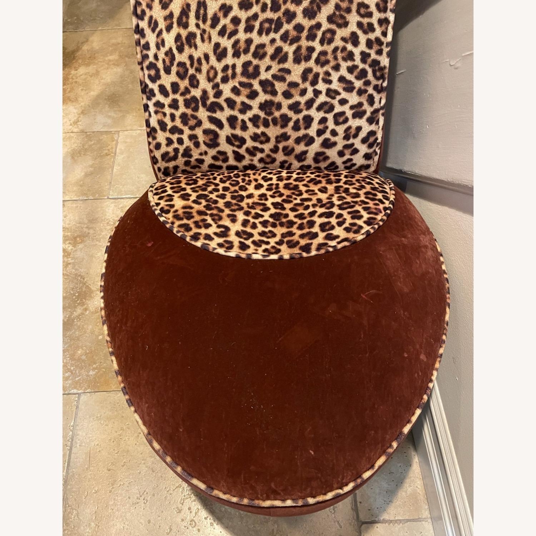 Vintage Leopard Shoe Chair - image-4