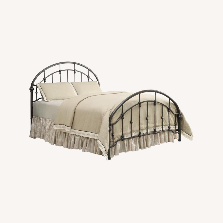 Full Bed In Canopy Design Dark Bronze Finish - image-4
