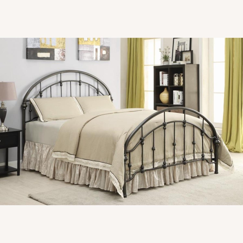 Full Bed In Canopy Design Dark Bronze Finish - image-2