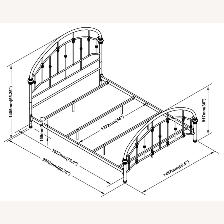 Full Bed In Canopy Design Dark Bronze Finish - image-3
