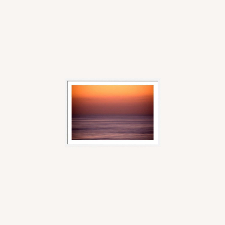 House of Spoils Swamis Sunset Print White Frame - image-0