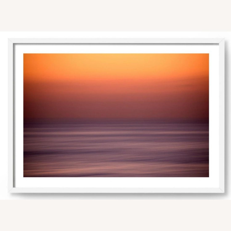 House of Spoils Swamis Sunset Print White Frame - image-1