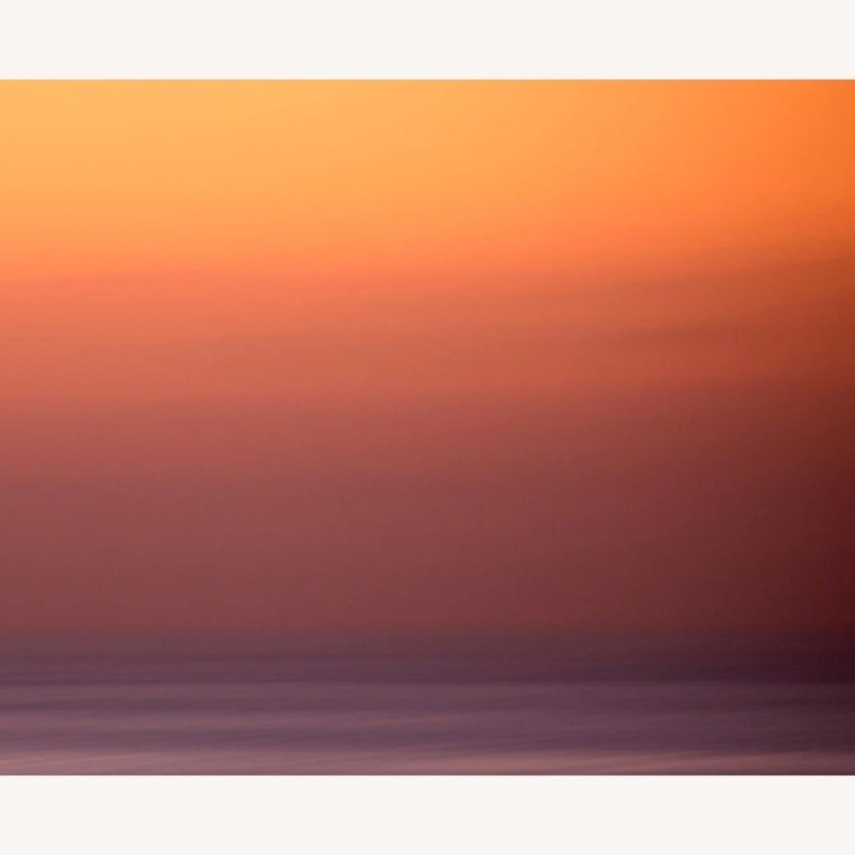 House of Spoils Swamis Sunset Print White Frame - image-3