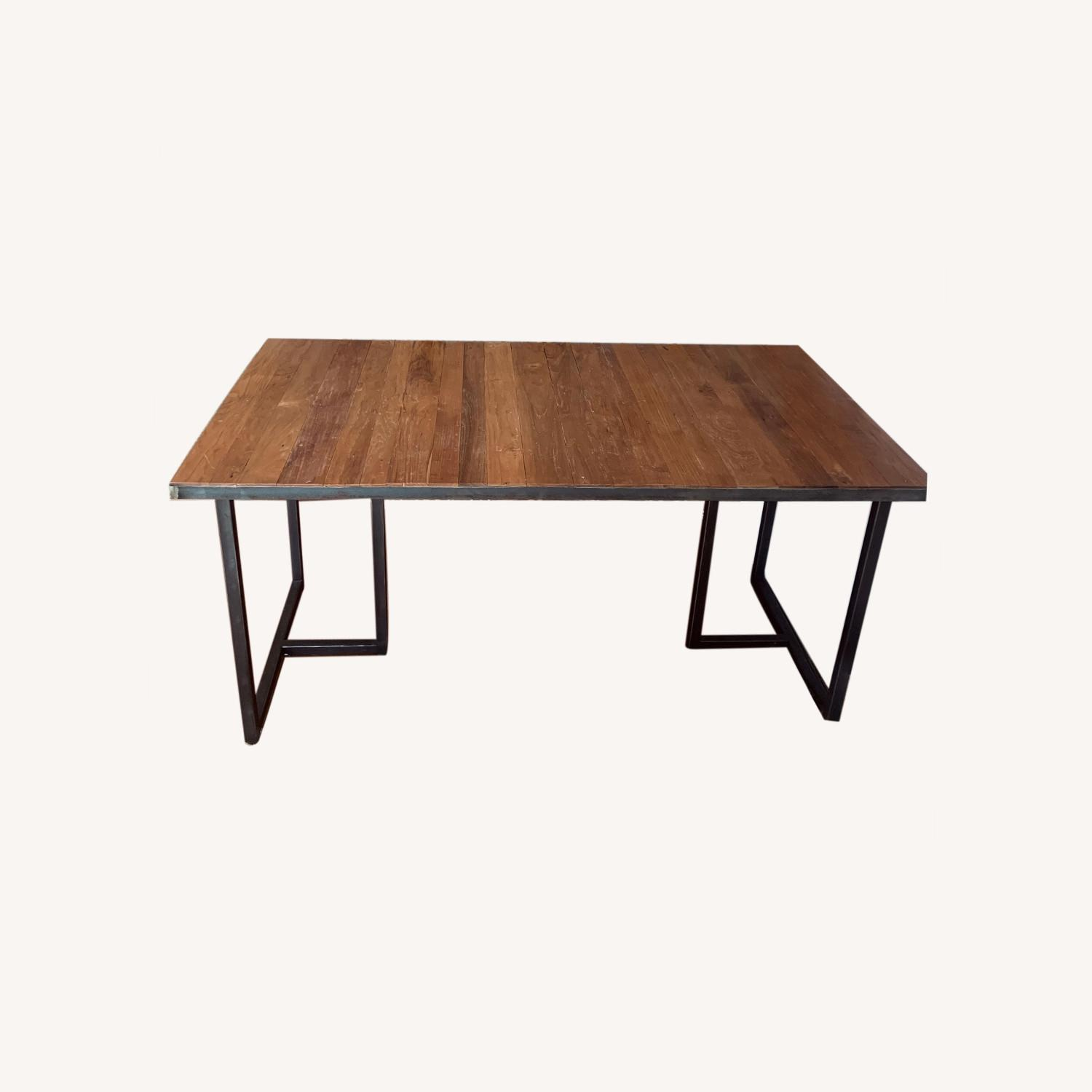 Wood Dining Table - image-0