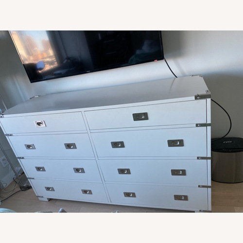 Used Pottery Barn Extra Wide Devon Campaign Dresser for sale on AptDeco