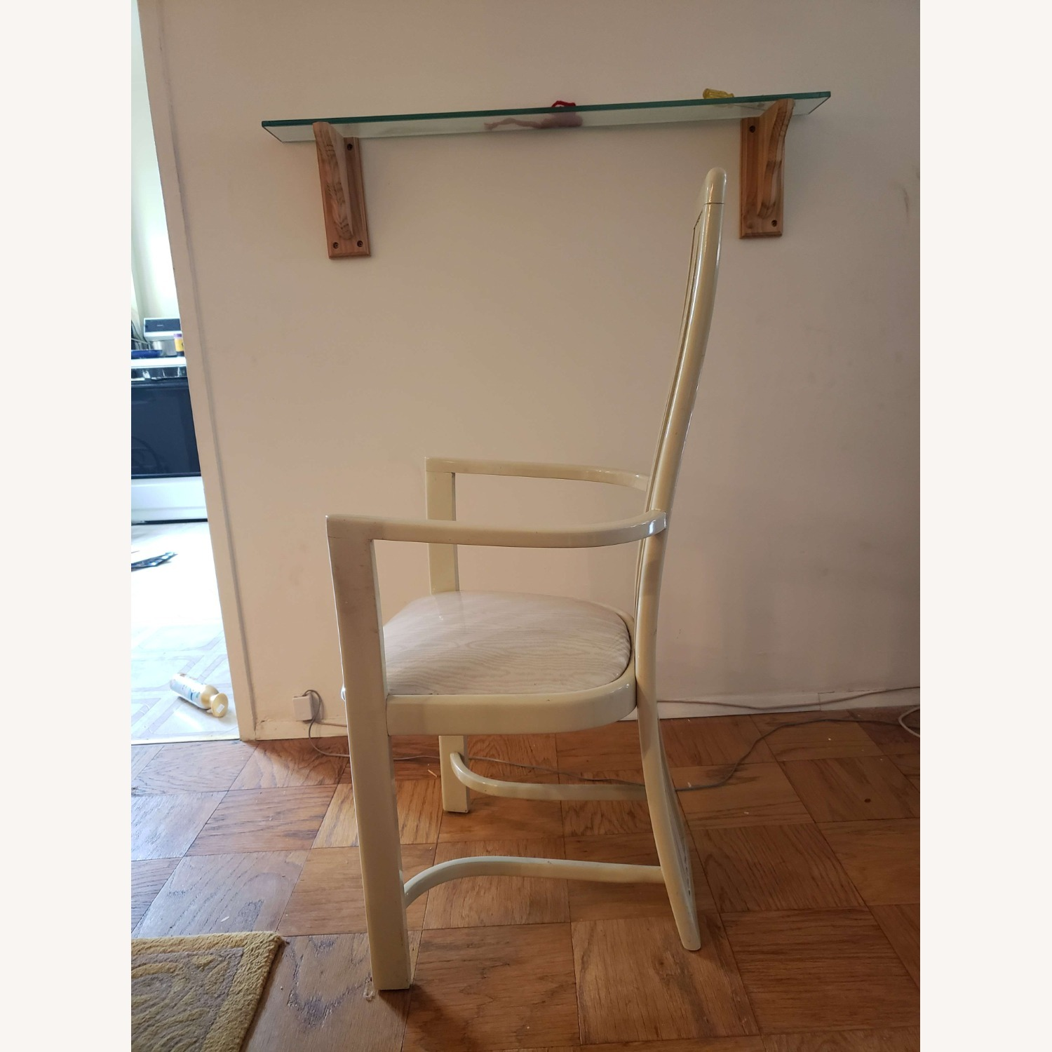 Set of White Dining Room Chairs - image-2