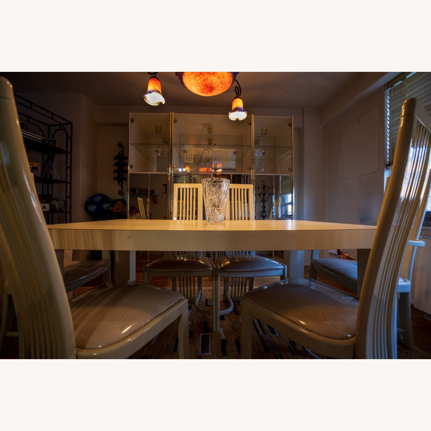 Set of White Dining Room Chairs - image-3