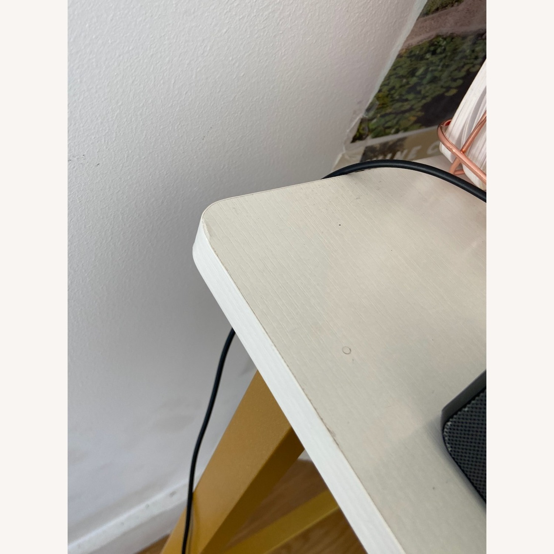 White & Gold Desk - image-2