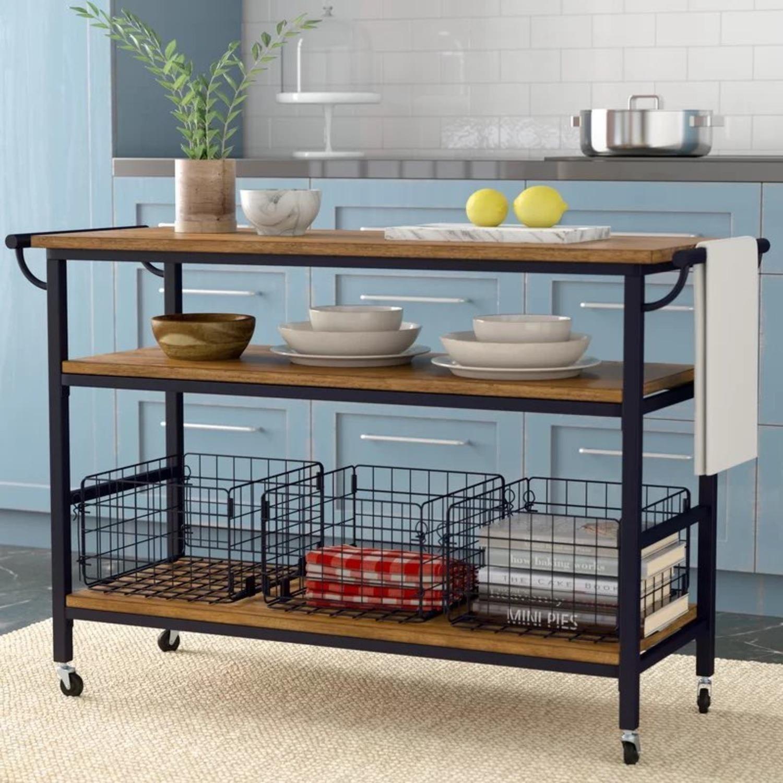 Wayfair Kitchen/Bar Cart - image-3