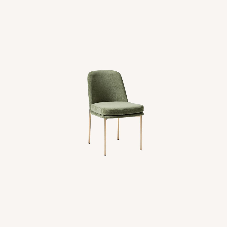West Elm Jack Dining Chair Set of 2 Spruce - image-0