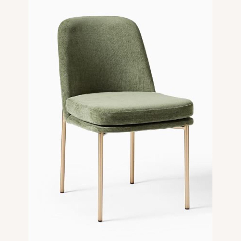 West Elm Jack Dining Chair Set of 2 Spruce - image-2