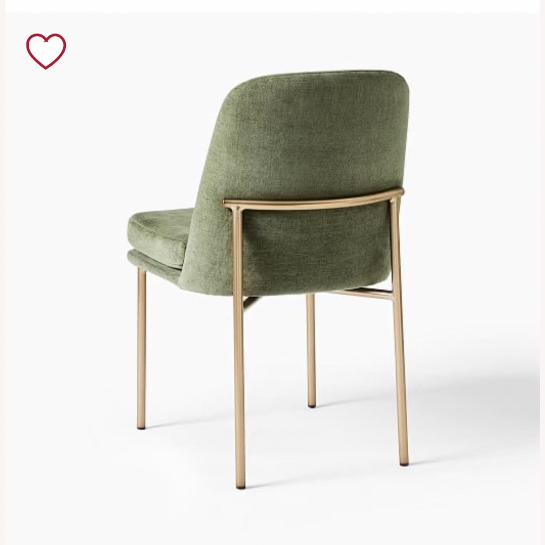 West Elm Jack Dining Chair Set of 2 Spruce - image-5