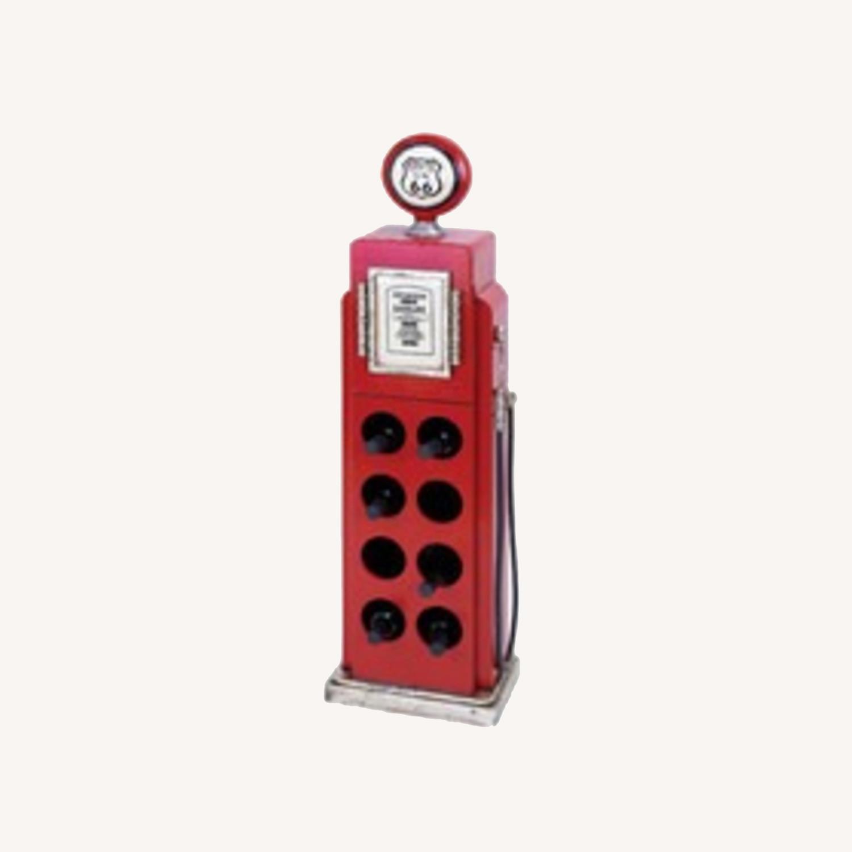 Wayfair Woodland Imports Gas Pump Wine Rack - image-0