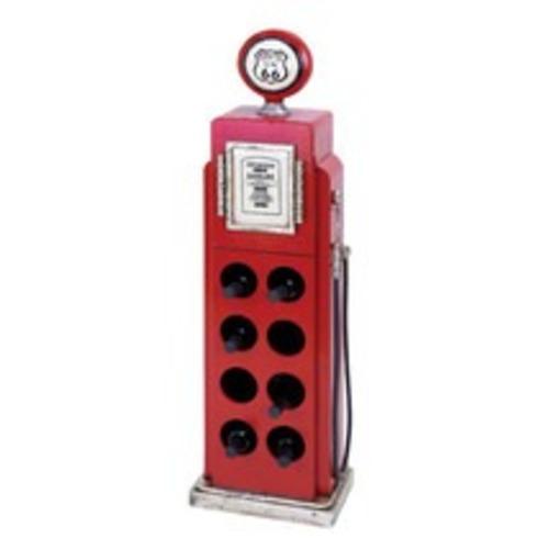 Used Wayfair Woodland Imports Gas Pump Wine Rack for sale on AptDeco