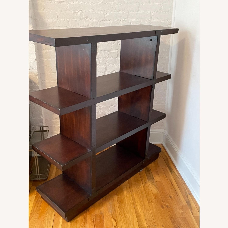 Dark Wood Bookcase/Shelving - image-2