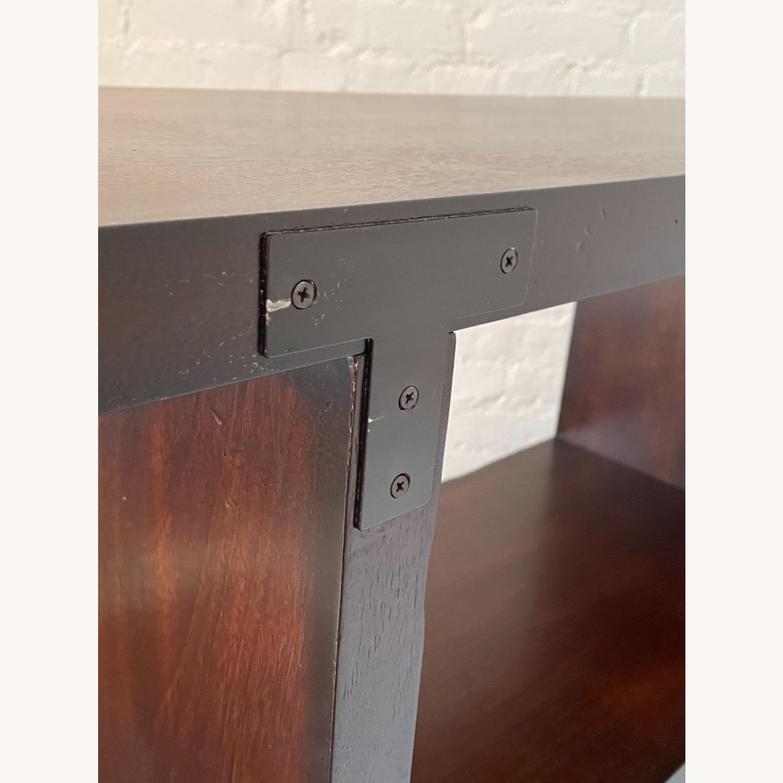 Dark Wood Bookcase/Shelving - image-6