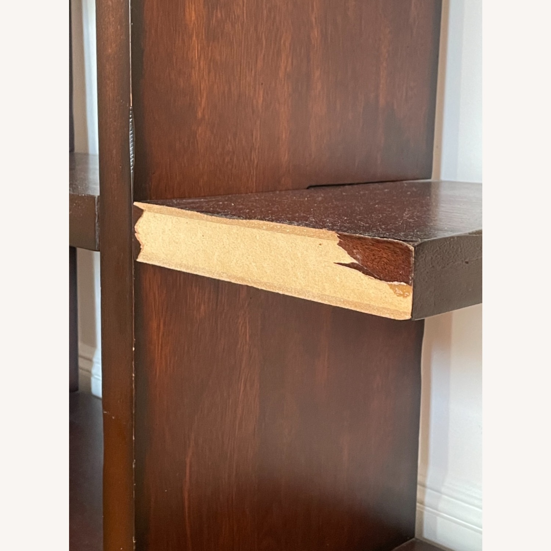 Dark Wood Bookcase/Shelving - image-3