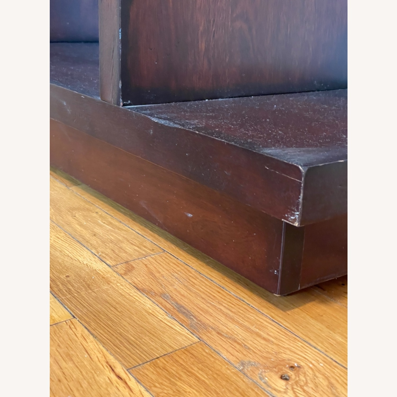 Dark Wood Bookcase/Shelving - image-4