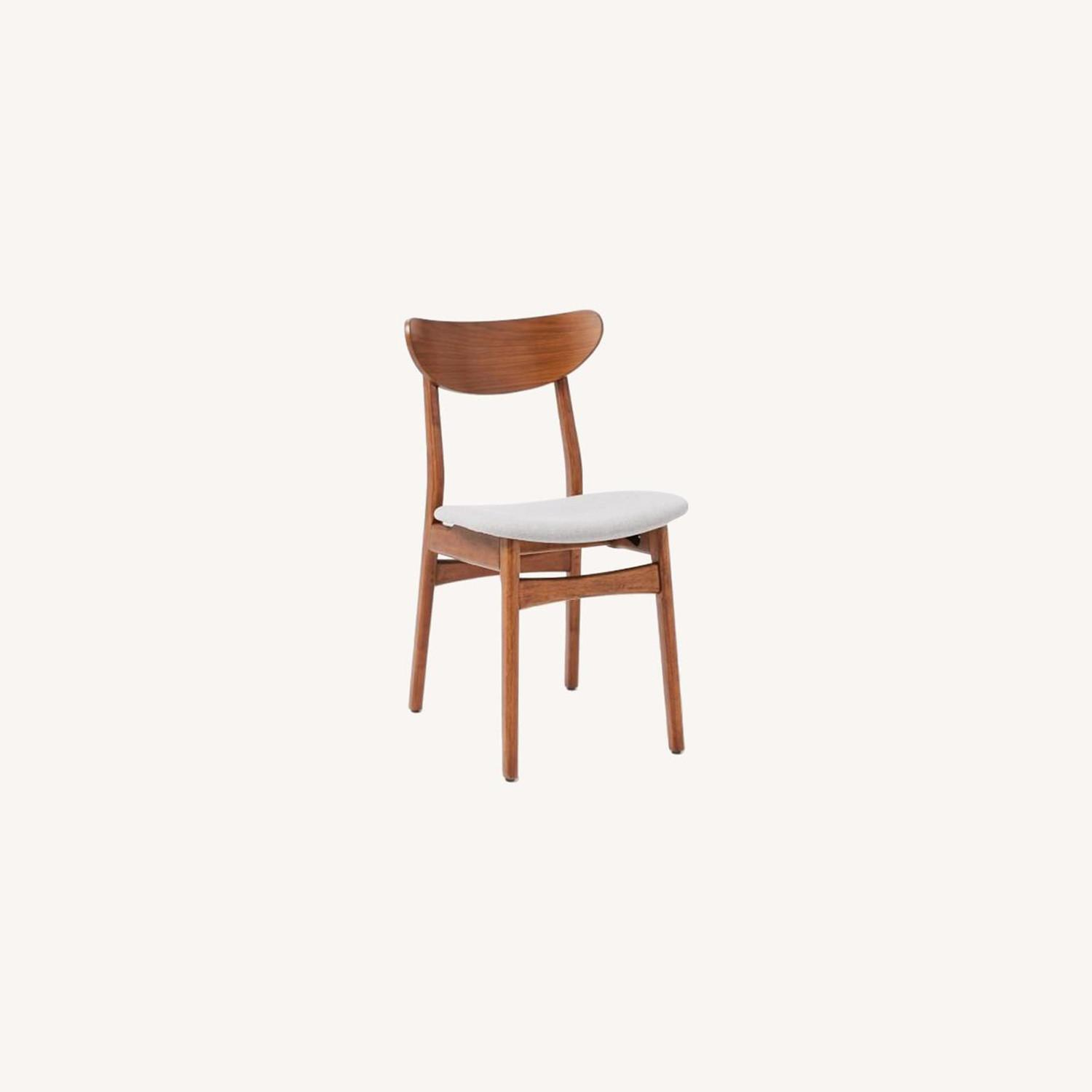 West Elm Classic Cafe Dining Chairs Set of 2 - image-0