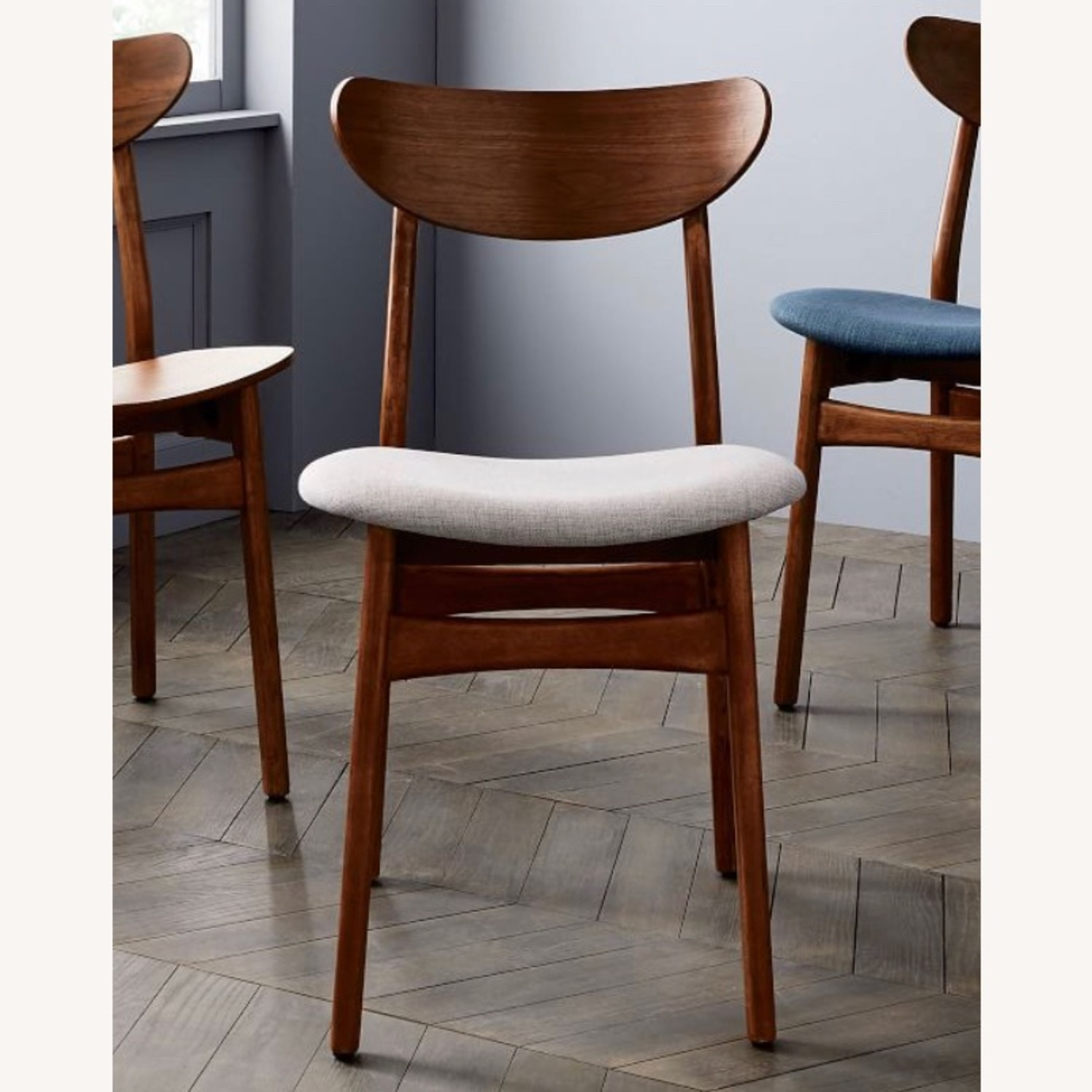 West Elm Classic Cafe Dining Chairs Set of 2 - image-3