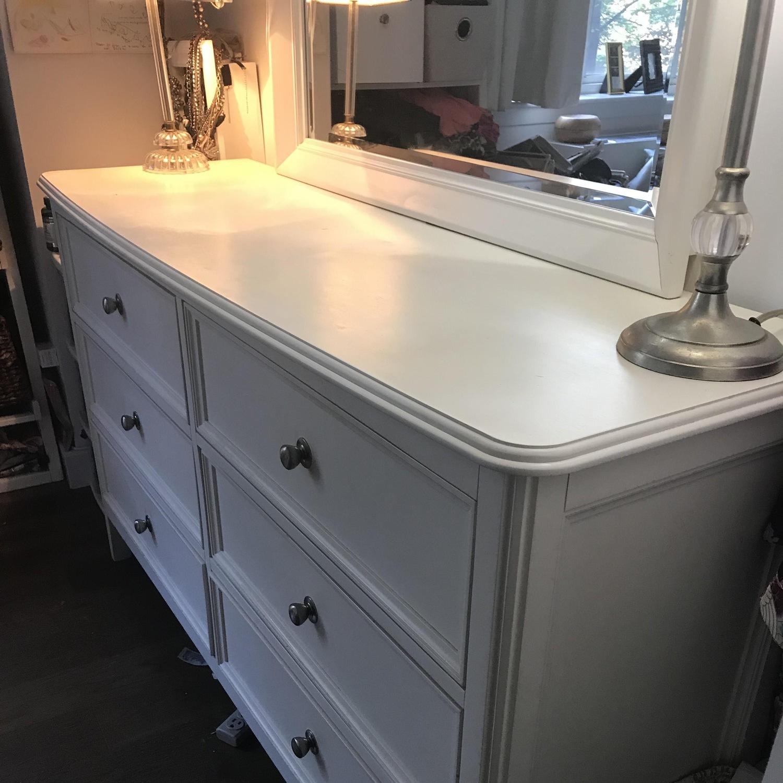 White Wood Dresser - image-6