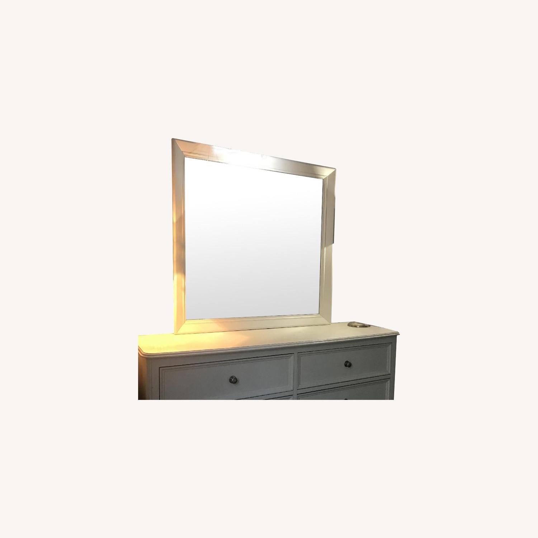 White Wood Dresser - image-0