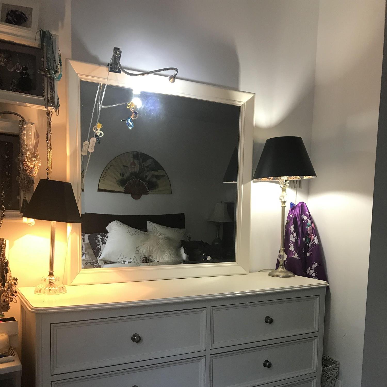White Wood Dresser - image-5